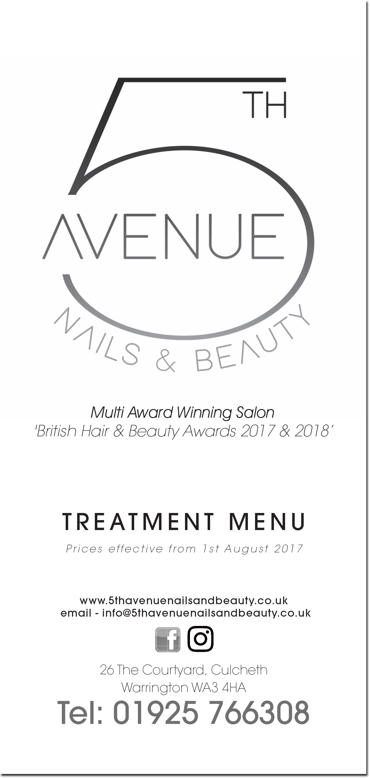 5th Avenue Nails & Beauty – Specialising in Natural